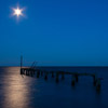 Groyne by Moonlight