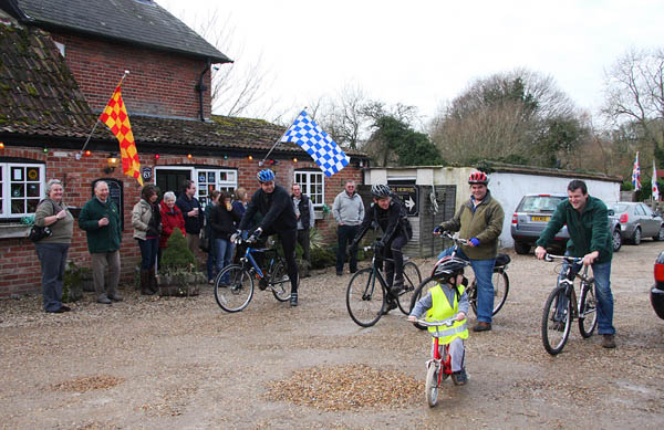 Great Bustard Group Sponsored cycle ride © Charlie Moores/GBG